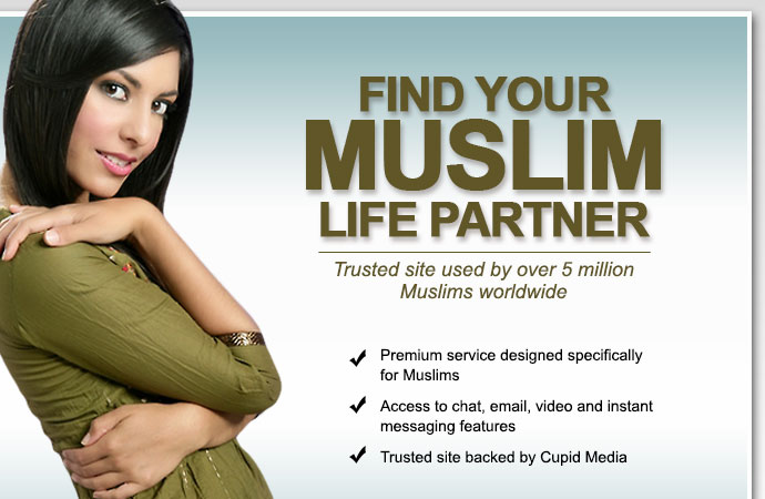 free muslim dating site layout