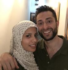 muslim girl dating white man